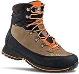 CRISPI Goretex - Zapatillas para hombre Lapponia, botas de caza, caminatas, senderismo, técnicas, impermeables Marrón Size: 43 EU