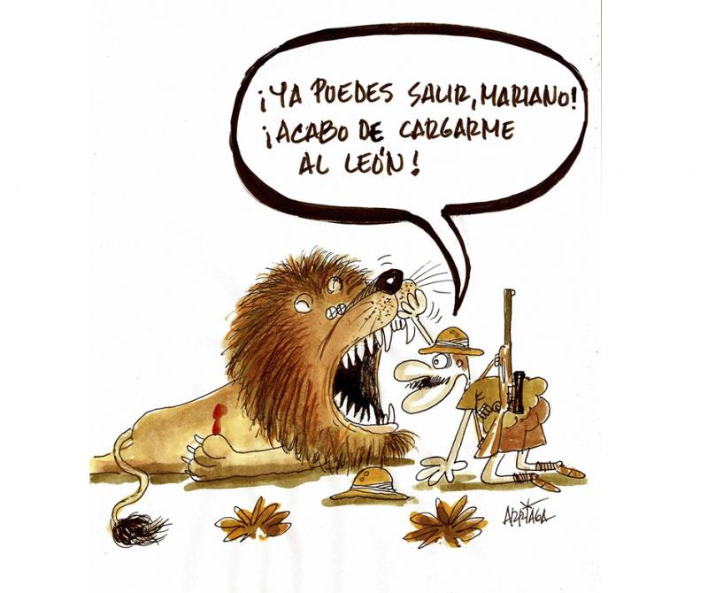 El cazador despistado | Humor de caza | Cuaderno de Caza
