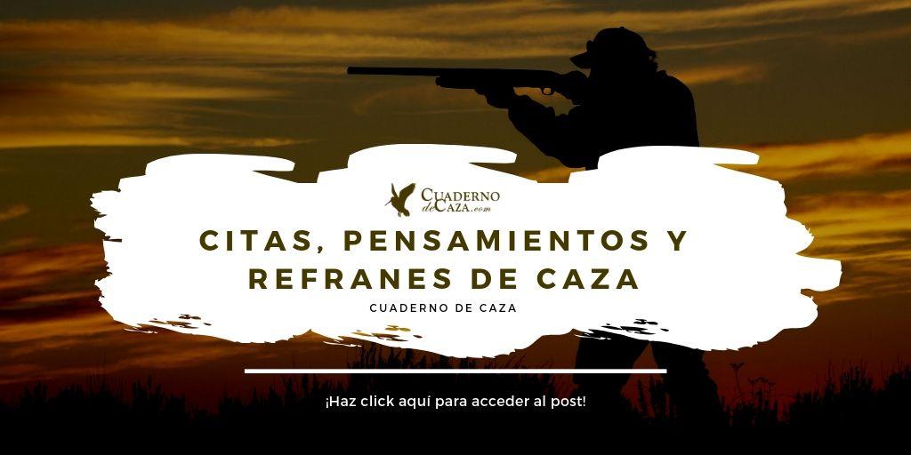 Artículos de caza más leídos   Primer aniversario blog   Cuaderno de Caza