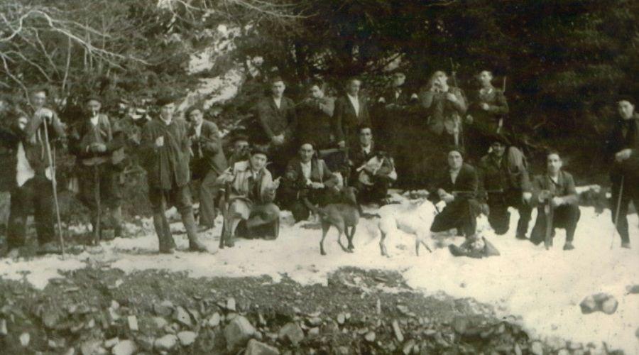 Caza vestía jersey de lana | La caza en los pueblos | Cuaderno de Caza