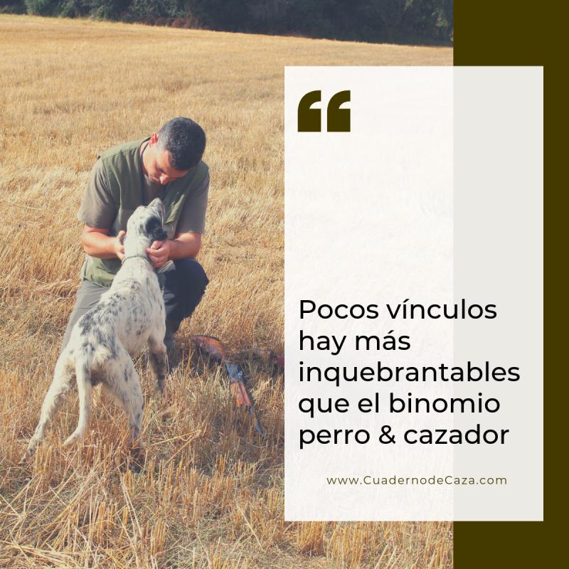Pocos vínculos hay más inquebrantables que el binomio perro cazador.png
