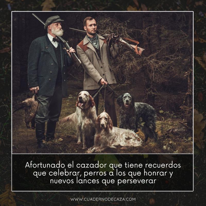 Cazador afortunado | Refranes de caza con fotos | Cuaderno de Caza