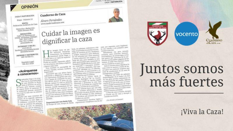 Colaboración con la FAC | Federación Andaluza de Caza | Cuaderno de Caza