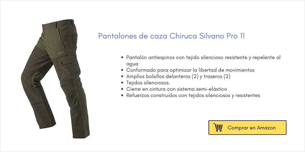 Pantalones de caza Chiruca Silvano Pro | Cuaderno de Caza