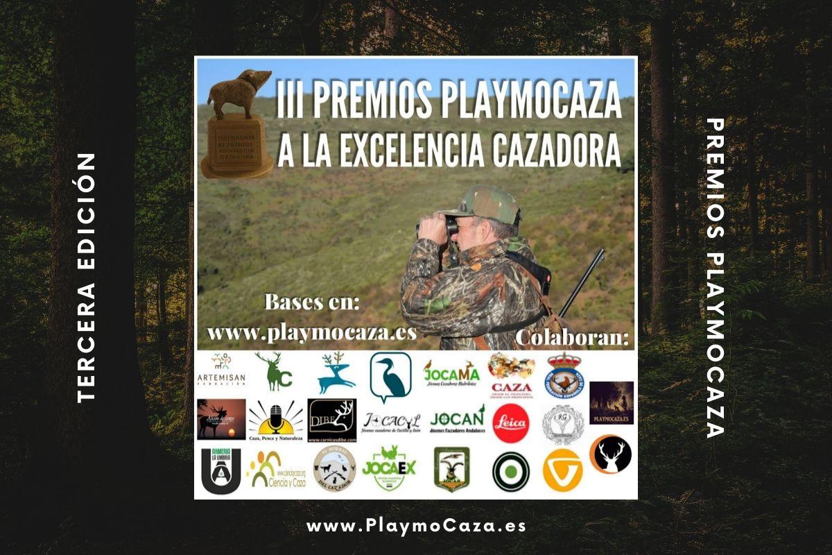 Tercera Edición de los Premios Playmocaza | Cuaderno de Caza