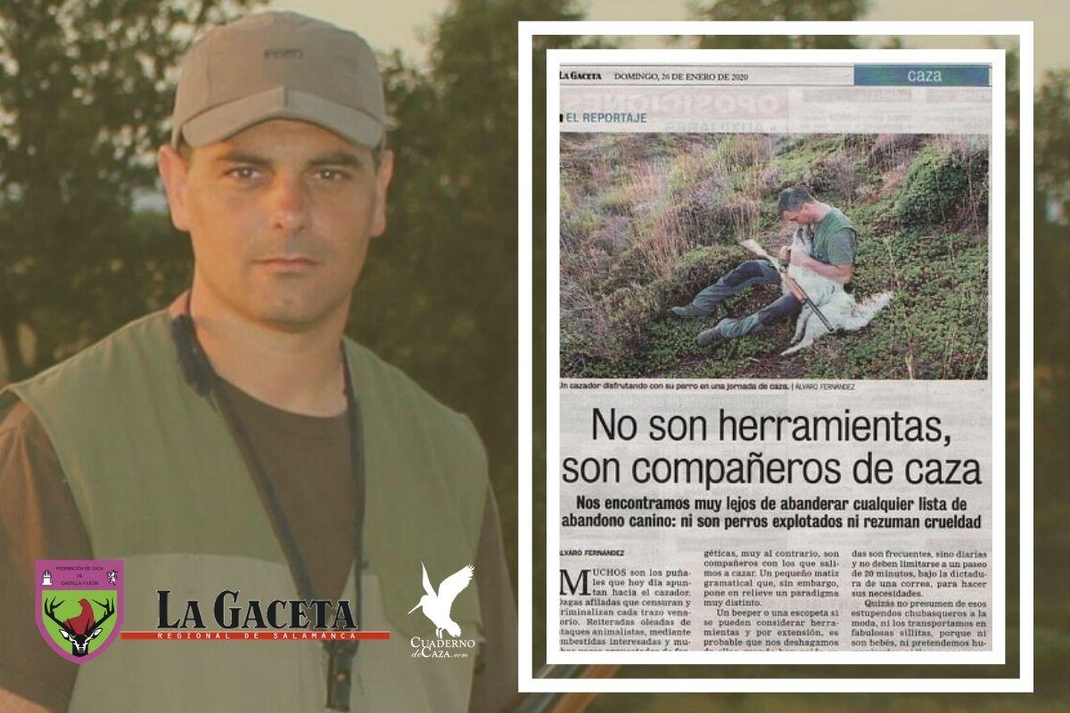 Artículo de caza para La Gaceta de Salamanca | Cuaderno de Caza