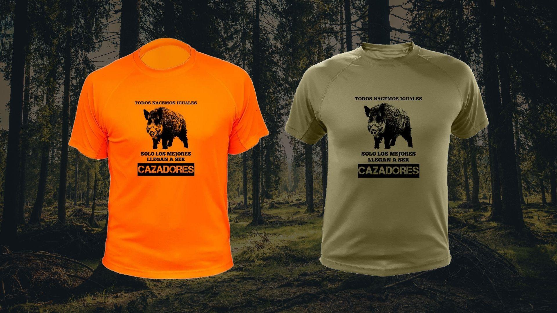 Camiseta de Caza Regalos para Cazadores Compa/ñero Esencial