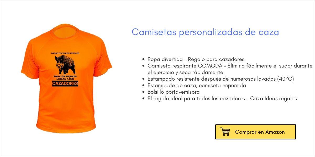 Camisetas personalizadas de caza | Cuaderno de Caza