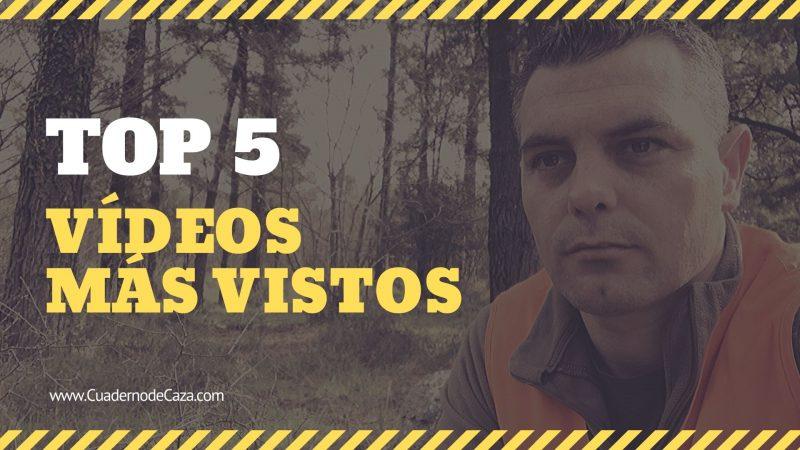 5 Vídeos más vistos en el blog | Cuaderno de Caza