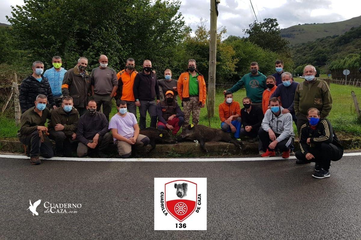 Batida de jabalí en Cabuérniga | Caza de jabalí en Cantabria 2020 | Cuaderno de Caza